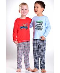Taro Dětské červené pyžamo Alvin
