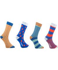 Funny SOX Pánské vícebarevné ponožky Box - dárkové balení
