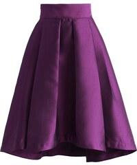 Chicwish pasová sukně Waterfall, fialová