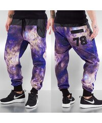 Just Rhyse Galaxy 78 Sweat Pants Purple