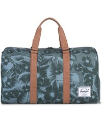 Taška Herschel Supply Novel Jungle Floral Green/Tan Synthetic Leather