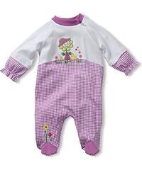 Schnizler Baby - Mädchen Schlafstrampler Interlock, Schlafanzug, Sonnenblume