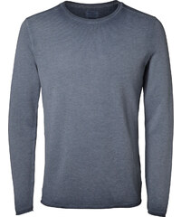 Selected SHNFred Crew Neck Sweater ombre blue