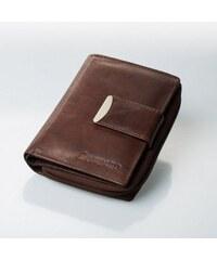 Dámská kožené peněženka Loranzo, Barva Hnědá Wild by loranzo V01