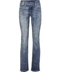 RAINBOW Jean bootcut bleu femme - bonprix