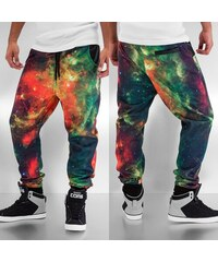 Just Rhyse Galaxy Sweat Pants Red