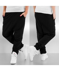 Just Rhyse Baggy Sweat Pants Black