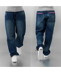 Dangerous DNGRS Pinky Baggy Fit Jeans Dark Blue Washed