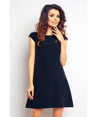 Tmavě modré šaty s krajkou VERO MODA Daga - Glami.cz 184d237e00