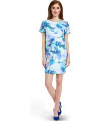 Happymum Modré těhotenské šaty Cloudy