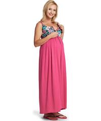 Happymum Fuchsiové těhotenské šaty Funny
