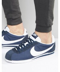 Nike - Cortez 807472-410 - Baskets classiques en nylon - Bleu