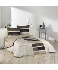 Douceur d'intérieur So natural - Parure de lit 3 pièces - beige