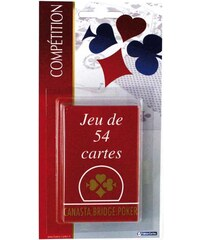 FRANCE CARTES Jeu de 54 cartes - multicolore