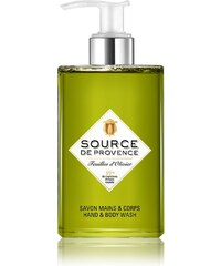 Source de Provence Feuilles d'olivier - Savon liquide