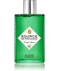 Source de Provence Orange épicée - Gel douche - vert