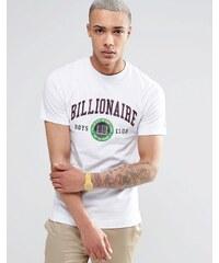 Billionaire Boys Club - T-Shirt mit Ivy League Logo - Weiß
