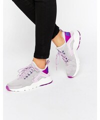 Nike Air - Huarache - Baskets pour courir lilas délavé. - Violet