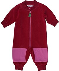 Fred's World by Green Cotton Baby - Mädchen Body Hedgehog Velvet Suit