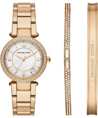 Michael Kors Montres, Delray Round Gold-Tone Bracelet Watch en or