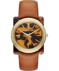 Michael Kors Montres, Ladies Kempton Wristwatch Tortoise en marron