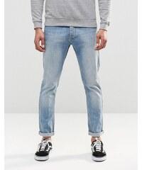 LDN DNM - Jean skinny stretch à délavage vintage Cast - Bleu