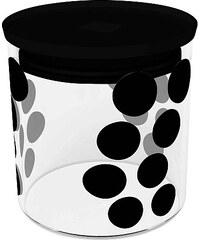 ZAK! designs - Dot dot dóza S 0,65 l, varné sklo/PP, černá (0015-850)