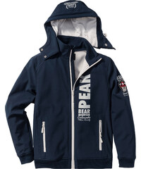bpc selection Veste softshell Regular Fit bleu manches longues homme - bonprix