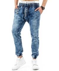 Pánské kalhoty Pawniard granátové - granat