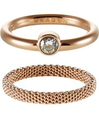 Skagen ELIN Ring rose goldcoloured