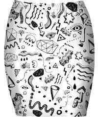Mr. GUGU & Miss GO Bandeau Skirt Symbols