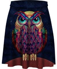Mr. GUGU & Miss GO Skater Skirt Space Owl