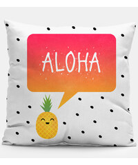 Mr. GUGU & Miss GO Pillow Aloha