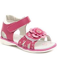 Dětská obuv Cortina.be Happy Bee B127484 růžové dívčí sandálky