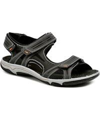 IMAC S1830e41 černé pánské sandály