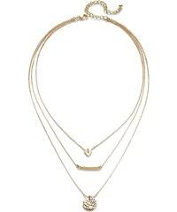 bpc bonprix collection 3-řadý náhrdelník bonprix