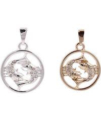 Lesara Halskette mit Sternzeichen-Anhänger - Gold