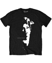 Amy Winehouse Herren T-Shirt Scarf Portrait