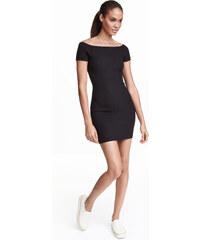 H&M Šaty s odhalenými rameny