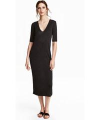 H&M Šaty z jemného úpletu