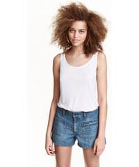 H&M Džínové šortky s kapsami