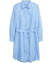Lněné košilové šaty H&M+