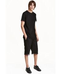 H&M Dlouhé šortky ze síťoviny