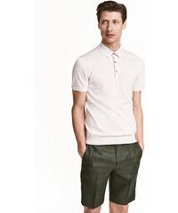 H&M Lněné šortky