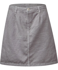 Street One - Mini-jupe en lin Malia - pearl grey