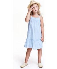 H&M Pruhované bavlněné šaty
