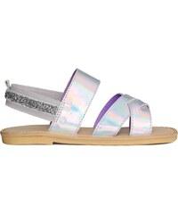 H&M Sandály s metalízovým povrchem