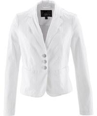 bpc selection Blazer extensible blanc manches longues femme - bonprix