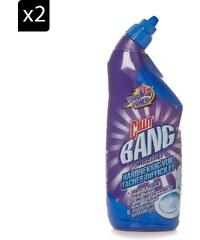 Cilit Bang Fraîcheur océan - Lot de 2 Cilit Bang nettoyant WC tâches difficiles - 750 ml