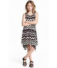 H&M Vzorované žerzejové šaty